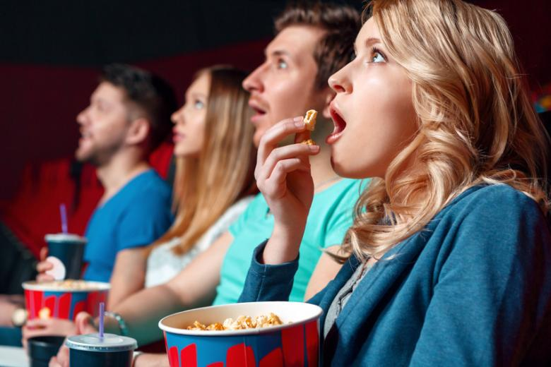 Spectateurs cinéma
