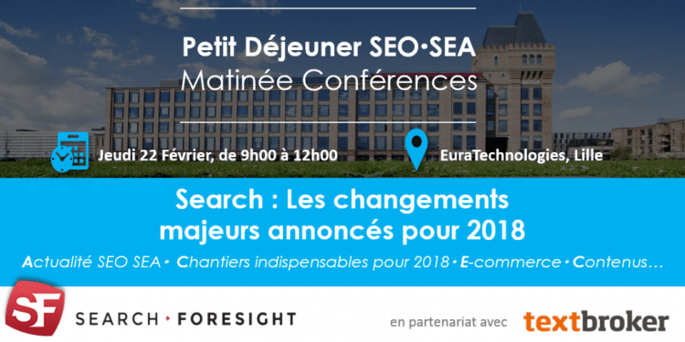 Conférence SEO Lille