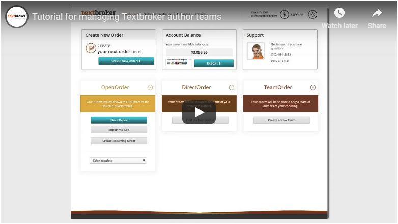 Comment diriger vos équipes d'auteurs Textbroker