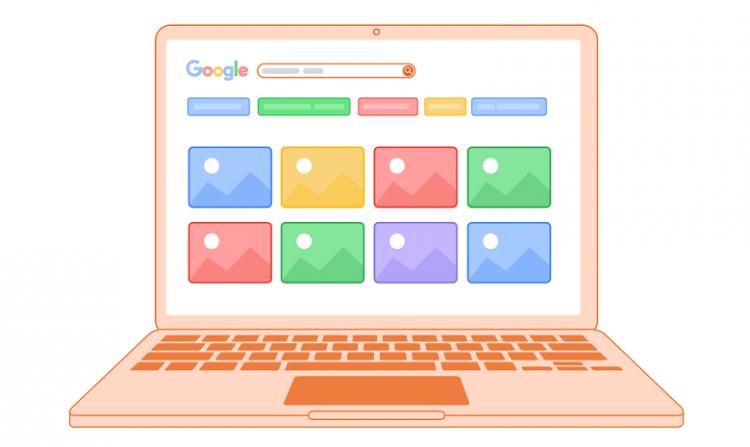 fonction recherche d'image sur google