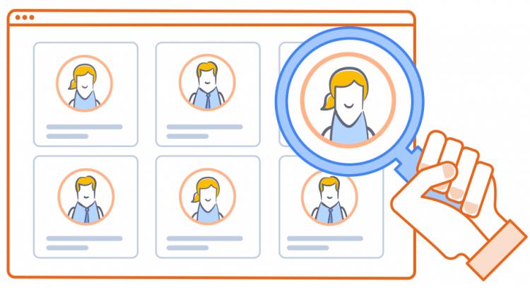 Recherche de profils différents pour trouver un rédacteur web