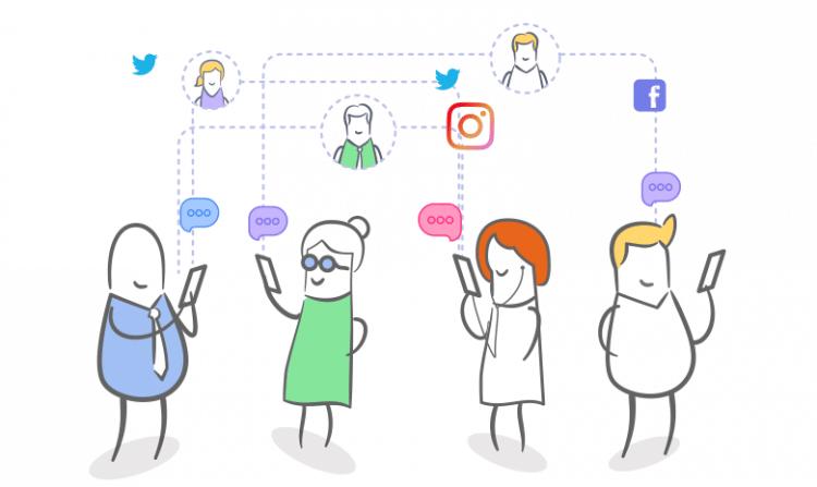 le marketing digital doit essayer d'atteindre sa cible aussi sur les reseaux sociaux