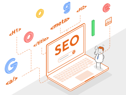 les differents elements composant le SEO