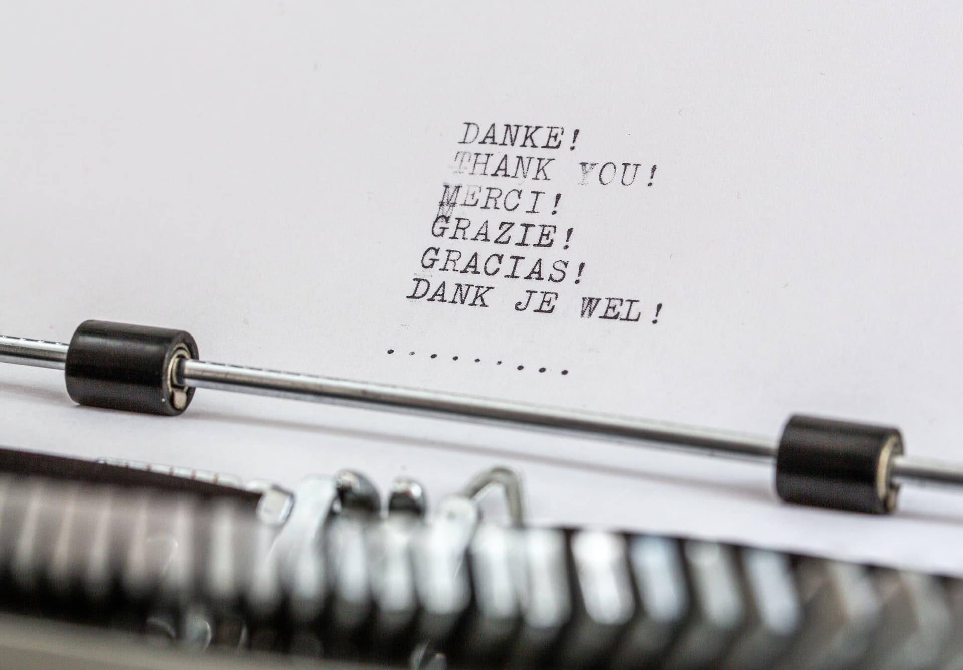 Langues sur votre profil d'auteur